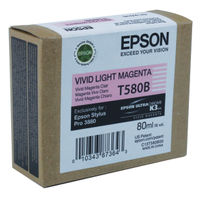 Epson T580B Vivid Light Magenta Ink Cartridge - C13T580B00