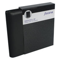View more details about Filofax Metropol Black A5 Zipped Organiser (Includes UK and ROI bank holidays) 026979