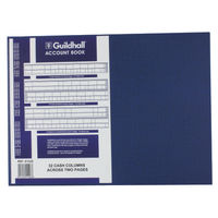 Guildhall 61 Series, 32 Cash Columns Account Books - 1406