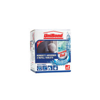 UniBond Small Humidity Absorber Tablets Refills, Pack of 2 - 1554712