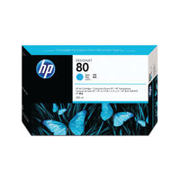 View more details about HP 80 Cyan High Yield Ink Cartridge | C4846A