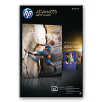 View more details about HP Advanced 10x15cm Glossy Borderless Paper, 250gsm - 25 Sheets - Q8691A