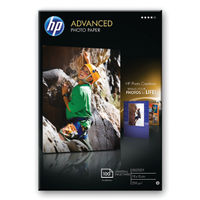 View more details about HP Advanced 100 x 150mm White Glossy Paper, 250gsm - 100 Sheets - Q8692A