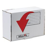 Missive Small Parcel Value Mailing Box 275 x 195 x 107mm, Pack of 20 - 7272206