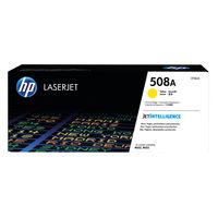 View more details about HP 508A Yellow Toner Cartridge - CF362A