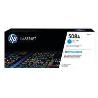 View more details about HP 508A Cyan Toner Cartridge - CF361A
