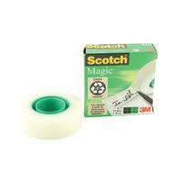 Scotch Magic Tape - 19mm x 33m Invisible Tape Roll - ETRAV70HEDVEGB