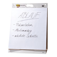 Post-it Meeting Chart Pad, 635 x 762mm, Pack of 6 - 559-V6PK