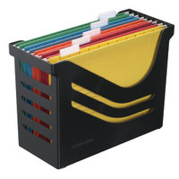 Atlanta Res Black Recycled Office Box with 5 files – A658026998