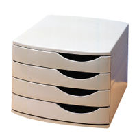 Jalema Grey Desktop 4 Drawer Set - A6862541