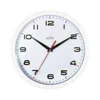 View more details about Acctim Aylesbury Wall Clock White 92/301