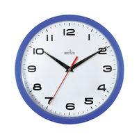 Acctim Aylesbury Blue Wall Clock - 92/308