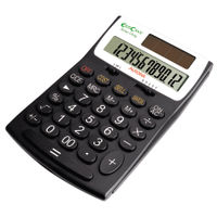 Aurora EC505 Recycled Desktop Calculator, 12 Digit Display - EC505