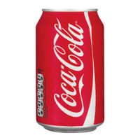 Coca Cola 330ml Cans, Pack of 24 - A00768