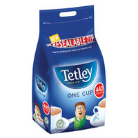 Tetley One Cup Teabags - Pack of 440 - NWT006