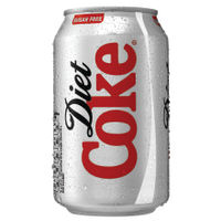 Coca Cola Diet Coke 330ml Cans, Pack of 24 – 100224