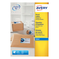 Avery QuickDry Inkjet Address Labels 199.6 x 289.1mm (Pack of 100) - J8167-100