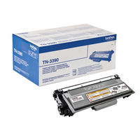 Brother TN-3390 Black Laser Toner Cartridge - Super High Capacity TN3390