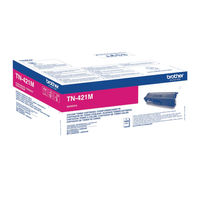 Brother TN-421 Magenta Toner Cartridge - TN421M