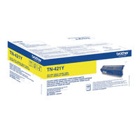 Brother TN-421 Yellow Toner Cartridge - TN421Y