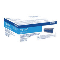 Brother TN-423 Cyan High Yield Toner Cartridge - TN423C