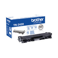 Brother TN-2420 Black Laser Toner Cartridge - TN2420
