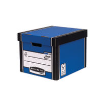 Fellowes Blue Bankers Box Premium Tall Storage Boxes, Pack of 10+2 - 7260603