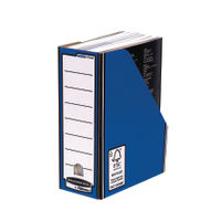 Bankers Box Premium Blue A4 Magazine Files - Pack of 10 - 0722904