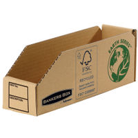 Fellowes Earth Series Parts Bin, 76 x 280 x 102mm - Pack of 50 - BB88043