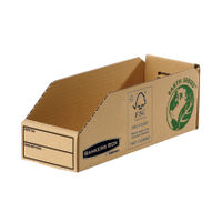 Fellowes Earth Series Parts Bin, 98 x 280 x 102mm - Pack of 50 - BB88044