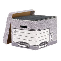 Fellowes R-Kive Standard Banker Box Archive Storage System, Pack of 10 - 00810FF