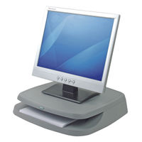 View more details about Fellowes Basic Charcoal Monitor Riser - BB91456