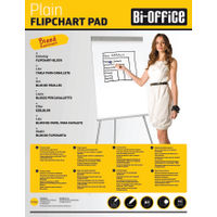 View more details about Bi-Office A1 Perforated Flipchart Pads, Pack of 5 - FL010101
