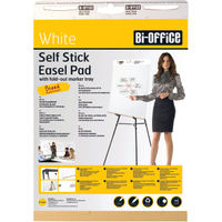 Bi-Office Self Stick 635 x 780mm Flipchart Pads, Pack of 2 - BQ55107