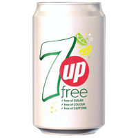 View more details about 7Up Free Lemon Lime 330ml Cans, Pack of 24 | 402010