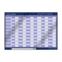 Collins Colplan 2019 Holiday Wall Planner - CWC10
