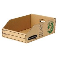 Fellowes Earth Series Parts Bin, 200 x 280 x 102mm - Pack of 50 - BB88046
