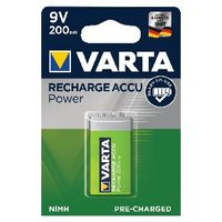 VARTA Rechargeable 9V Battery - 56722101401