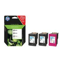 View more details about HP 301 Ink Cartridge Multipack - E5Y87EE