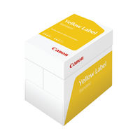 View more details about Canon Yellow Label Standard White A4 Paper, 80gsm - 2500 Sheets / 1Box- 97003515