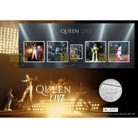 The Queen Live! Coin Cover