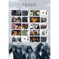 Queen Album Cover Collectors Sheet