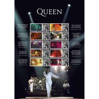 Queen Live Collectors Sheet