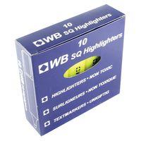 Yellow Hi-Glo Highlighter Pens, Pack of 10 - HI2717 819111