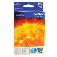 View more details about Brother LC980C Cyan Inkjet Cartridge LC-980C