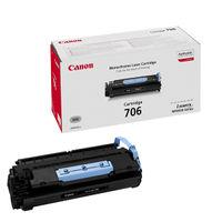View more details about Canon 706 Black Toner Cartridge 0264B002