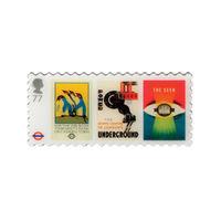 London Underground 77p Stamp Pin Badge - NB138