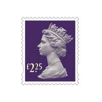 £2.25 Royal Mail Postage Stamps x 25 (Self Adhesive Stamp Sheet)