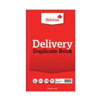 View more details about Silvine Carbon Delivery Duplicate Book (Pack of 6) - 613-T