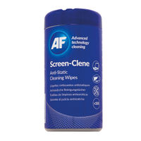 AF Screen-Clene Wipes Tub, Pack of 100